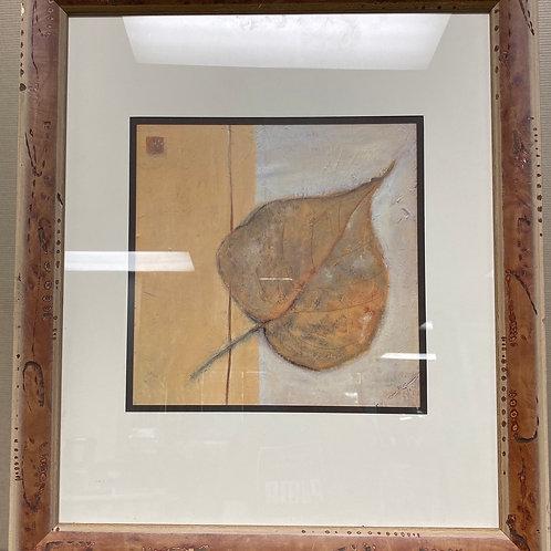 """16 3/4"""" x 19 3/4"""" Leaf Impression"""