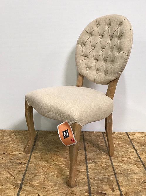 Tufted Louis Chair