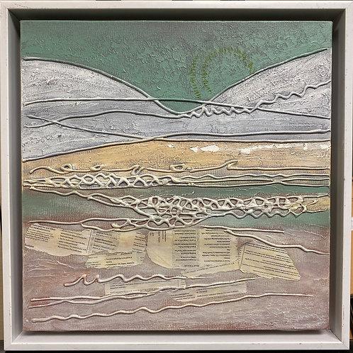 "15""x15"" Framed Canvas Art"