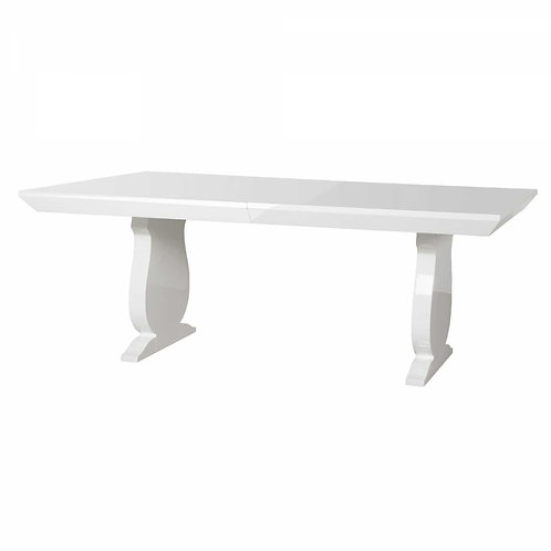 Bungalow 5 Porto Dining Table in White
