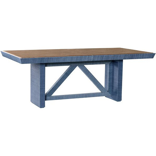 Bungalow 5  Dorset Dining Table, Navy Blue