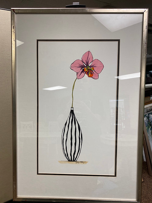 Orchid Frame Art