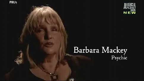 Psychic Barbara Mackey on Animal Planet