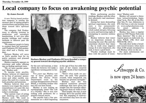 Local company to focus on awakening psychic potential