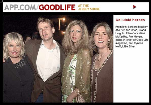 GOODLIFE at the Jersey Shore: Celluloid heroes Gala fundraiser supports  independent film festival