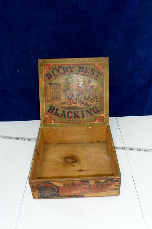 Bixby Best Blacking - Boot Black Brigade Box