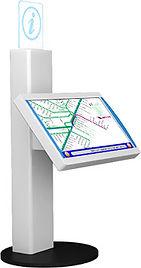 IMD kiosk, wayfinding, digital signage, queue management