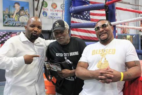 Reggie Johnson, Melvin Dennis, Warren Ki