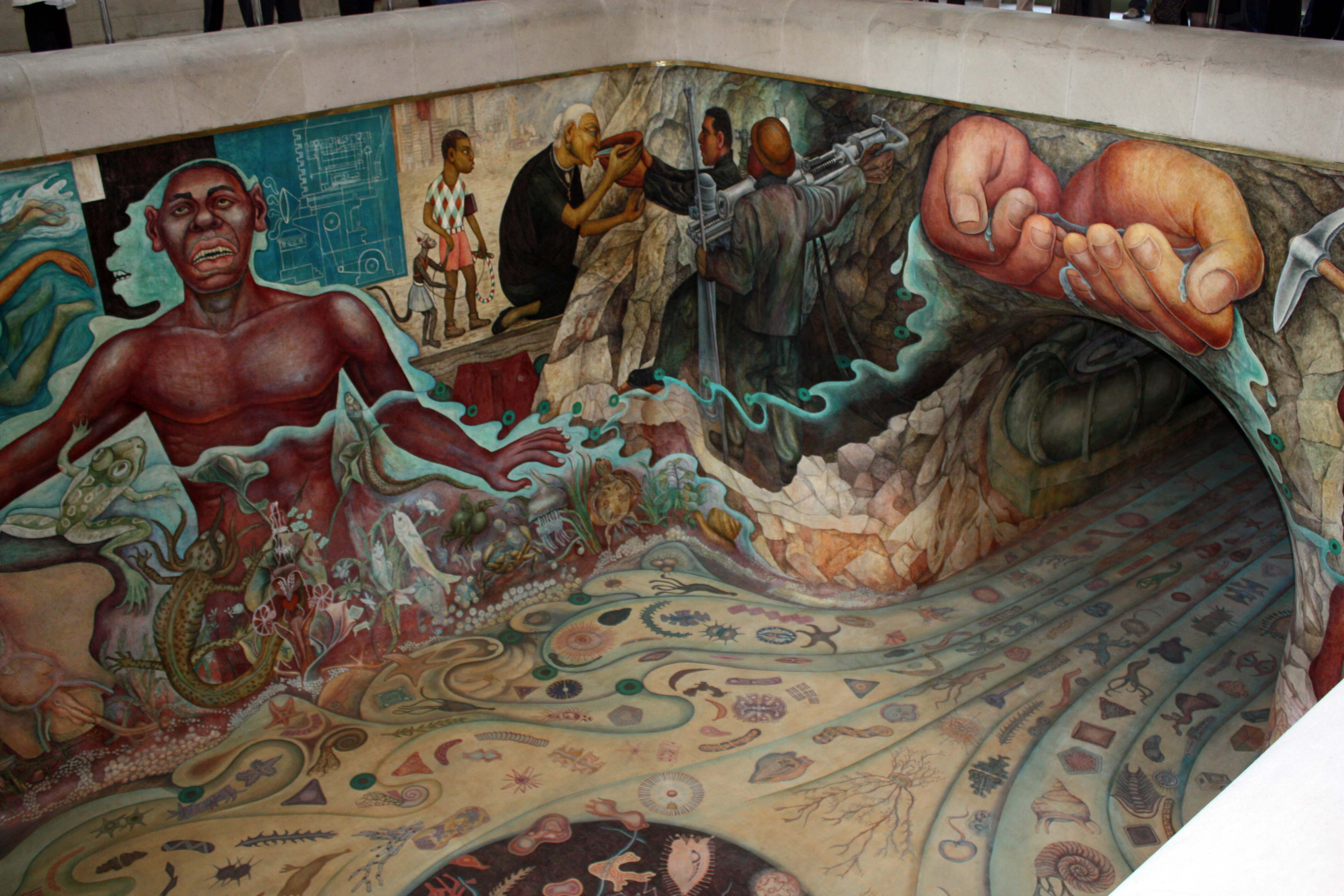 "carcamo-de-chapultepec-Painted_by_Diego_Rivera_and_titled_""Water,_the_Origin_of_Life,"""