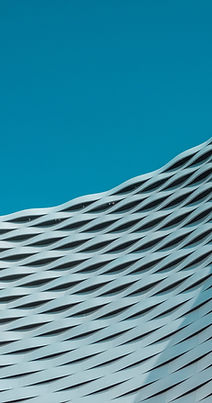Gebogene architektonische Struktur