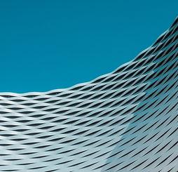 Structure architecturale incurvée