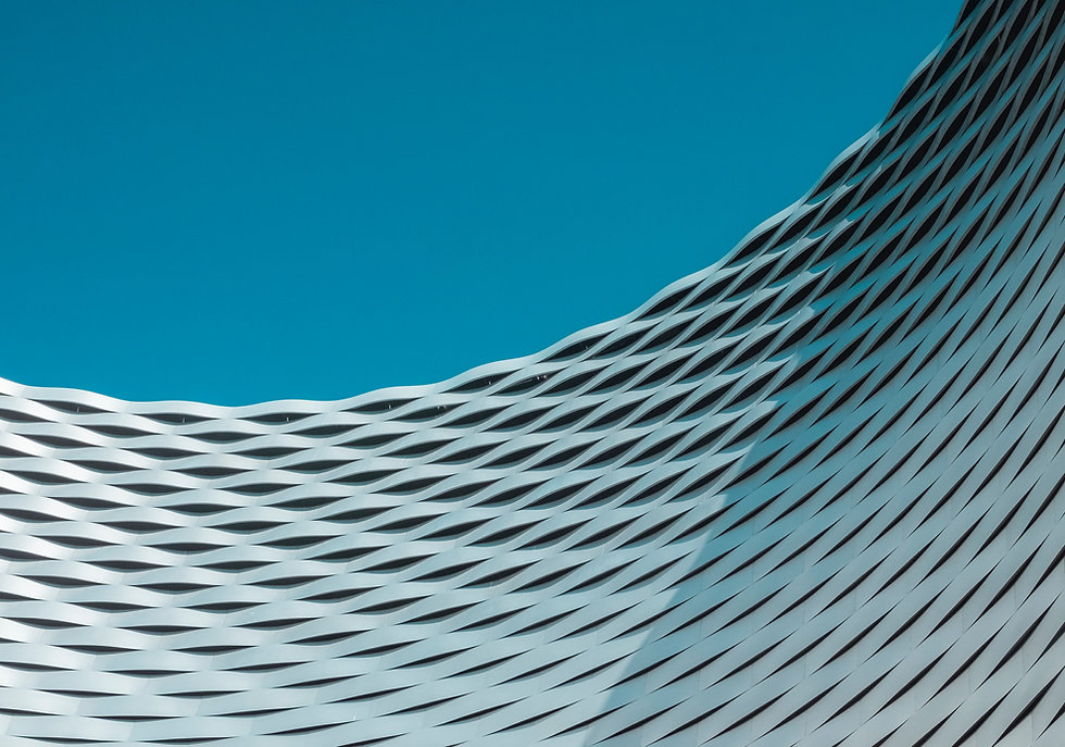 Curved Architectural Structure