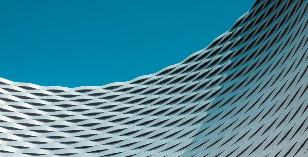 Curvo struttura architettonica