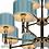 Thumbnail: Подвесная люстра Arcadia 85095/8+4 CR