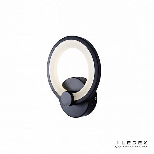 Настенный светильник Ring A001/1 BK
