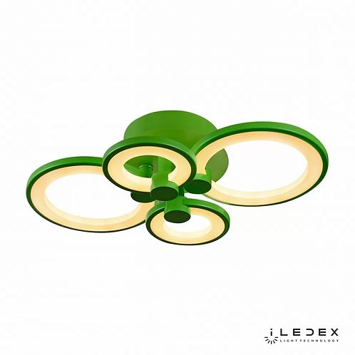Потолочная люстра Ring A001/4 GREEN