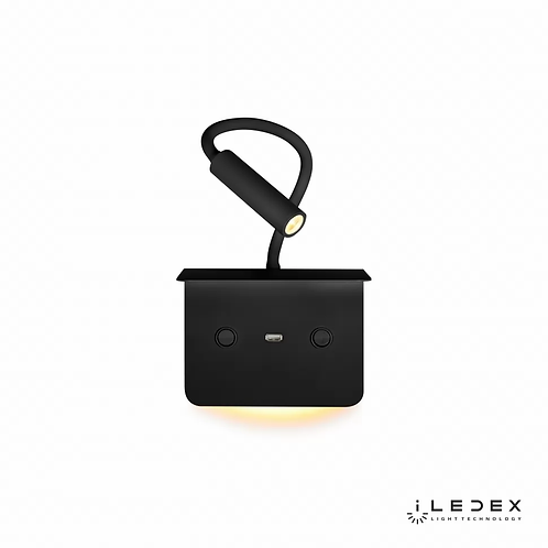 Настенный светильник Support 7031C BK