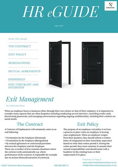 Exit Management