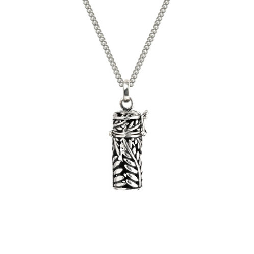 4N20001 Silver Fern Locket