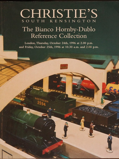 Christies Hornby Dublo reference collection