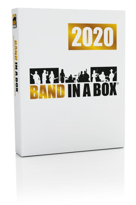 Band-in-a-Box® for Windows and Mac