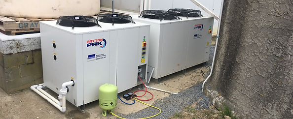 New refrigeration unit and water chiller