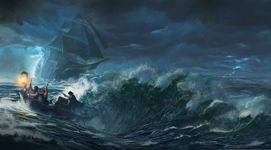 sea-boat-storm-pirates-ship-wallpaper-pr