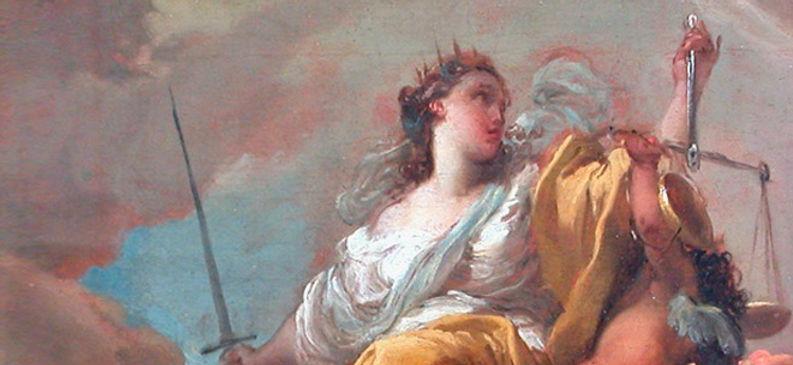 Gaetano Gandolfi - Allegoria della Giustizia