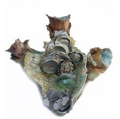 Tidal Heart (glass) (sold)