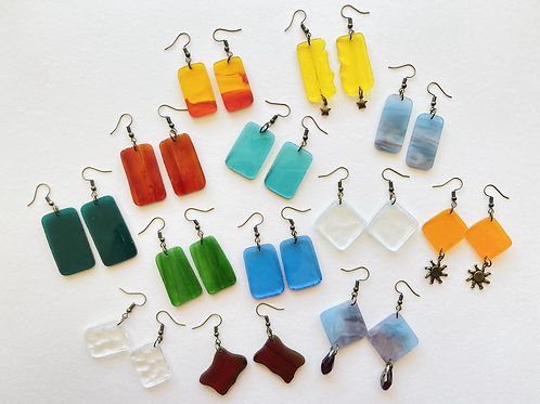Fragment Earring Sets (bronze collection)