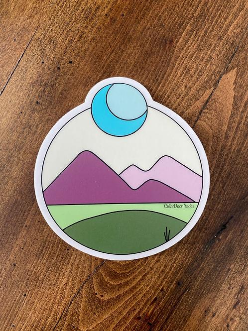 Wanderer Stickers (clear)