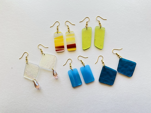 Fragment Earring Sets (gold collection)