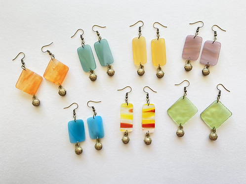 Fragment Earring Sets (bronze bell collection)
