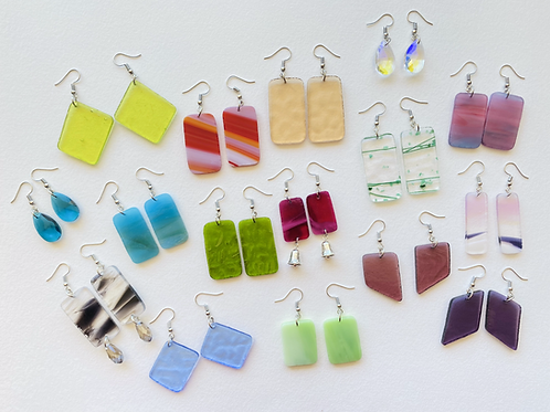 Fragment Earring Sets (silver collection)