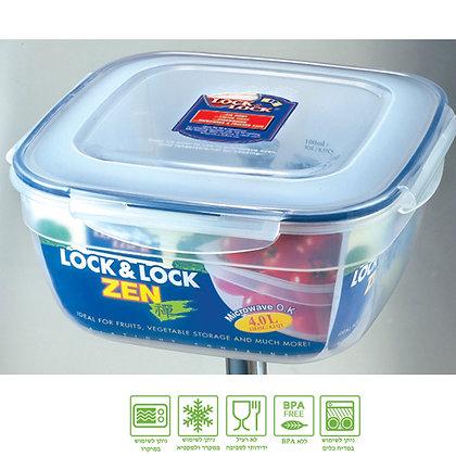 קופסת לוק&לוק אחסון ענקית 4 ליטר