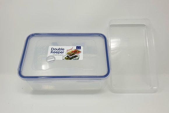 קופסה הרמטית 1.4 ליטר עם תא עליון