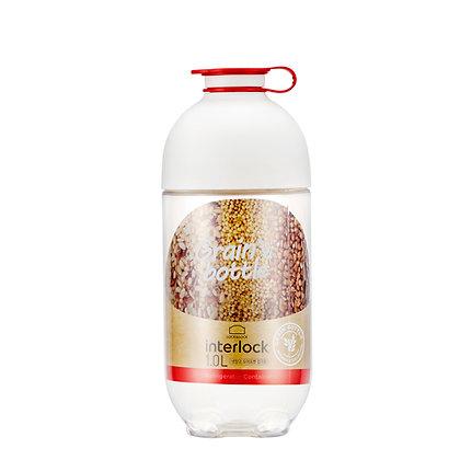 בקבוק לשמירת מזון יבש 1 ליטר