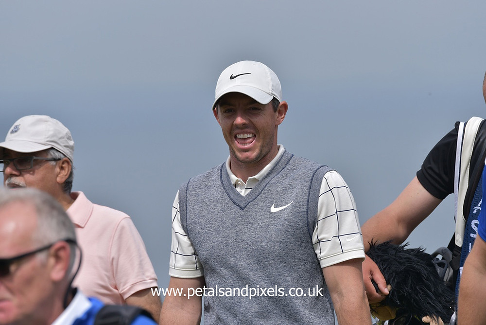 Rory McIlroy, Petals and Pixels