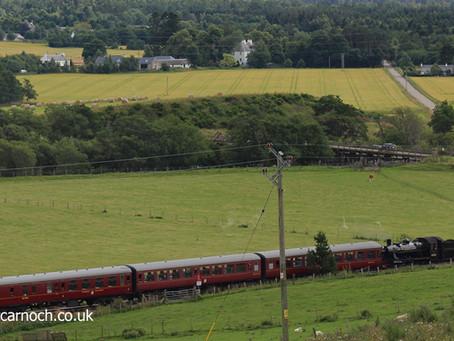 Ticket to ride on the Strathspey Railway
