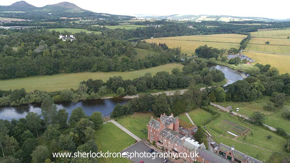 Aerial photography by Sherlock Drones Photography, Scottish Borders