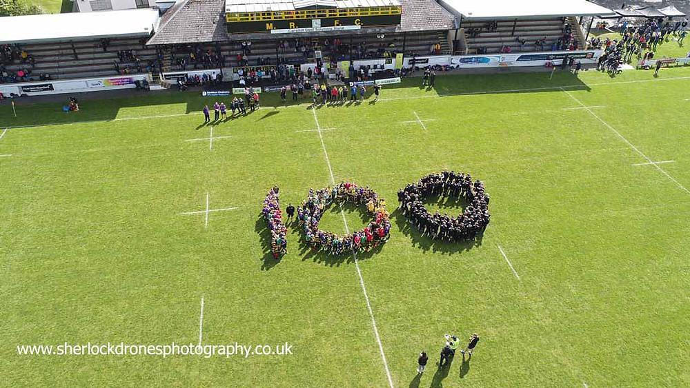 Aerial photography Scottish Borders
