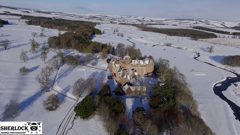Aerial Photography Scottish Borders, Sherlock Drones Photography