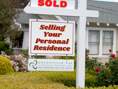 Selling Your Personal Residence
