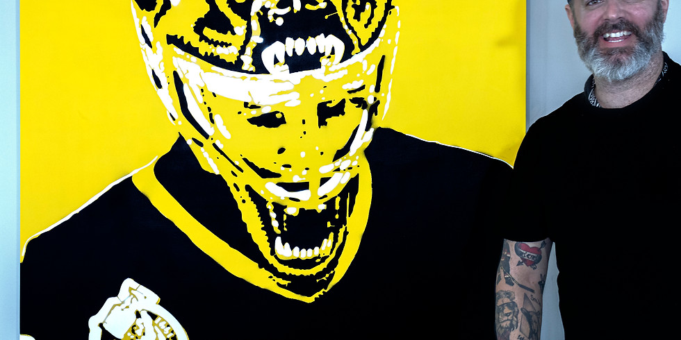 """Classic NHL Goalie """"CAGED"""" Series Prints Available"""