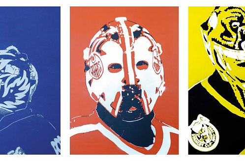 """All 5 """"Caged"""" Goalies"""