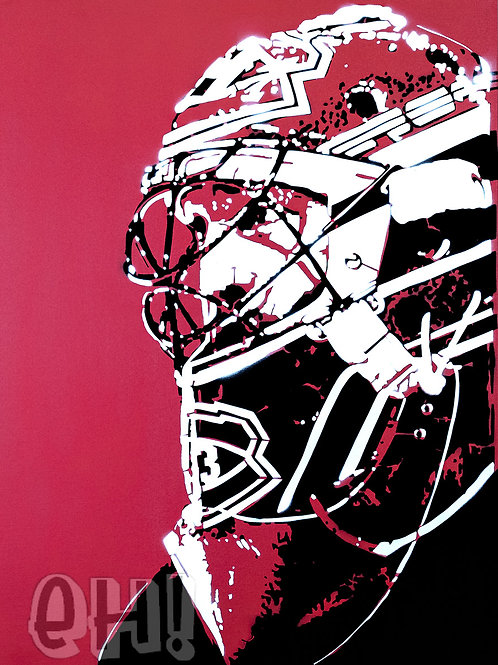 """""""Caged"""" Roy Print"""