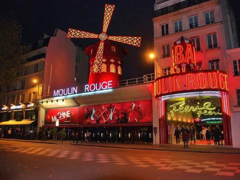 The Moulin Rouge is Paris!