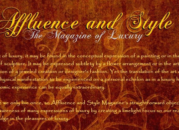 Affluence and Style