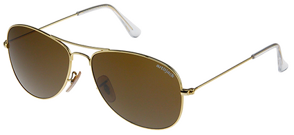 Art&Jack Sunglasses Times Square model goud/bruin