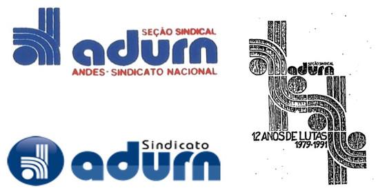 Logomarca da Adurn - Pedro de Lima, 1979